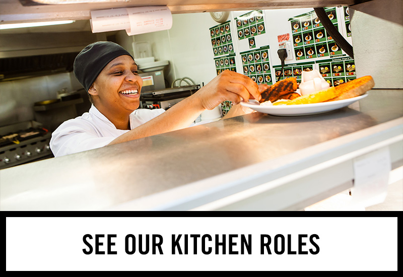Kitchen roles at The Daylight Inn