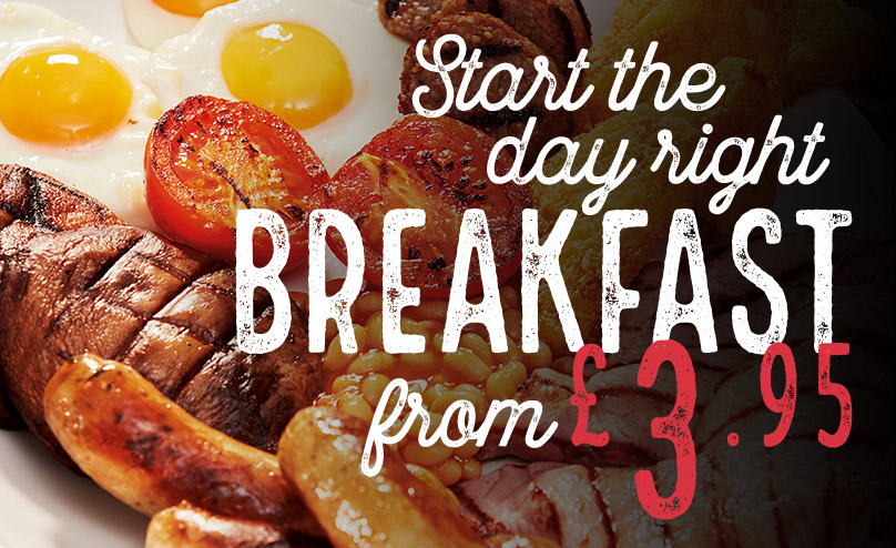 Good Morning Sunshine! View our Breakfast Menu